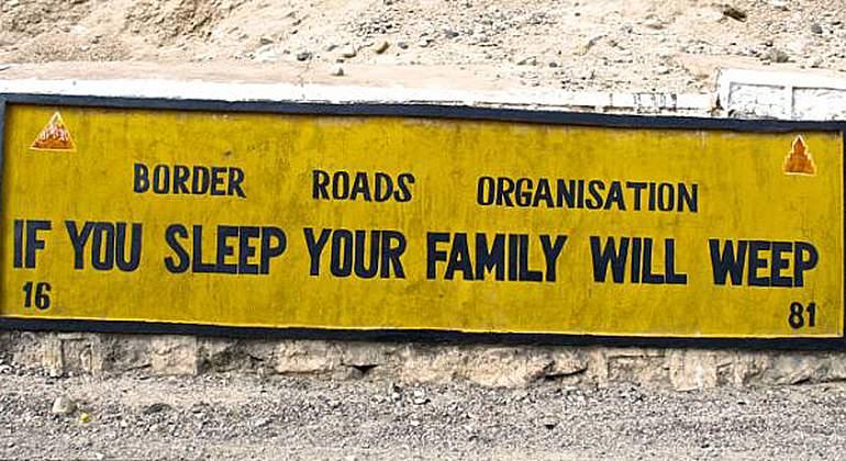 señal dormir al volante