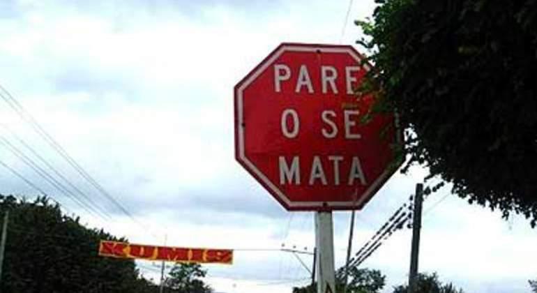señal stop especial