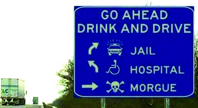 conducir efectos alcohol destino
