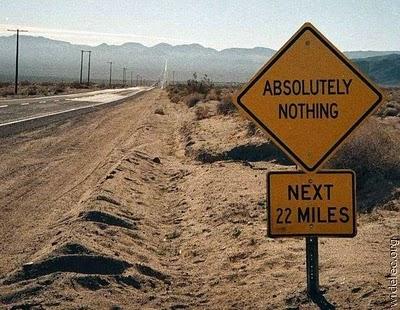 señal nada